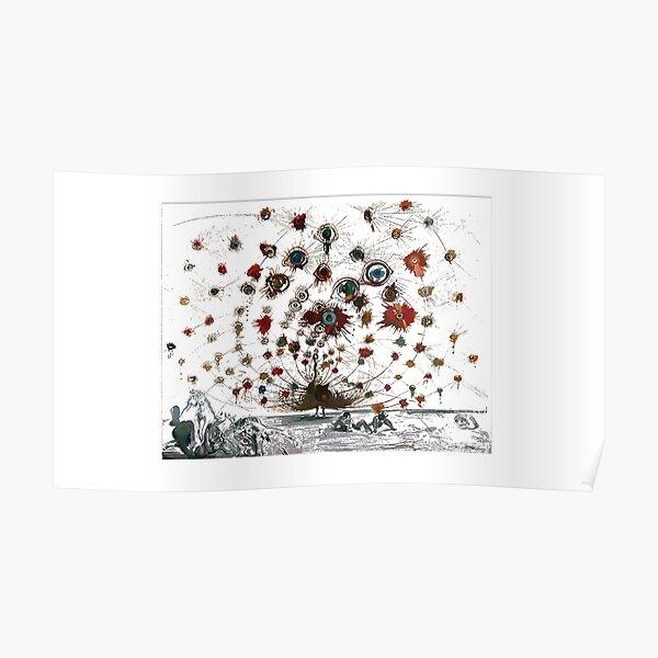 #painting #illustration #vector #design #art #abstract #decoration #flower #element #pattern #nature #horizontal #retrostyle #SalvadorDali Poster
