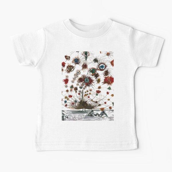 #painting #illustration #vector #design #art #abstract #decoration #flower #element #pattern #nature #horizontal #retrostyle #SalvadorDali Baby T-Shirt