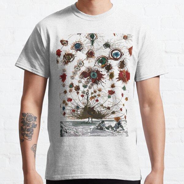 #painting #illustration #vector #design #art #abstract #decoration #flower #element #pattern #nature #horizontal #retrostyle #SalvadorDali Classic T-Shirt