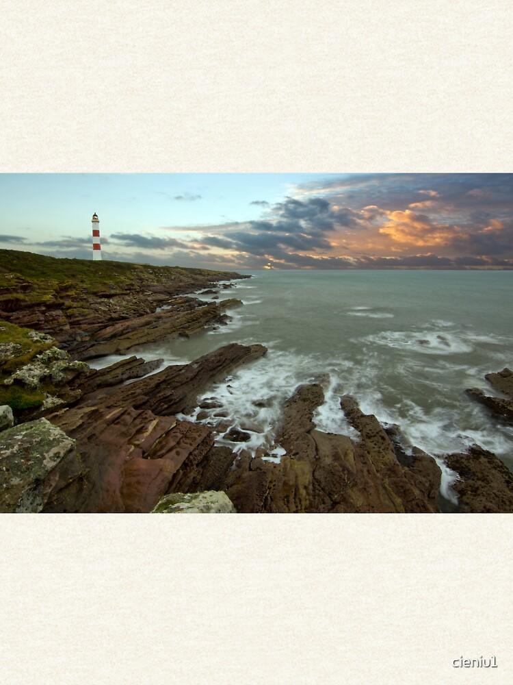 Tarbat Ness Lighthouse by cieniu1