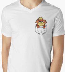 Growlithe Pocket V-Neck T-Shirt