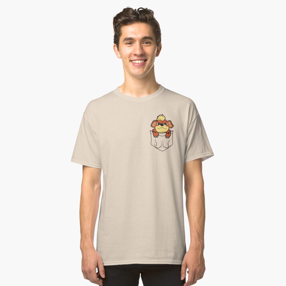 Growlithe Pocket Classic T-Shirt