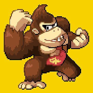 Donkey Kong by MisterPixel