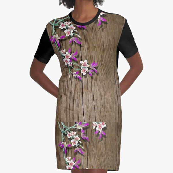Epiphytes Graphic T-Shirt Dress