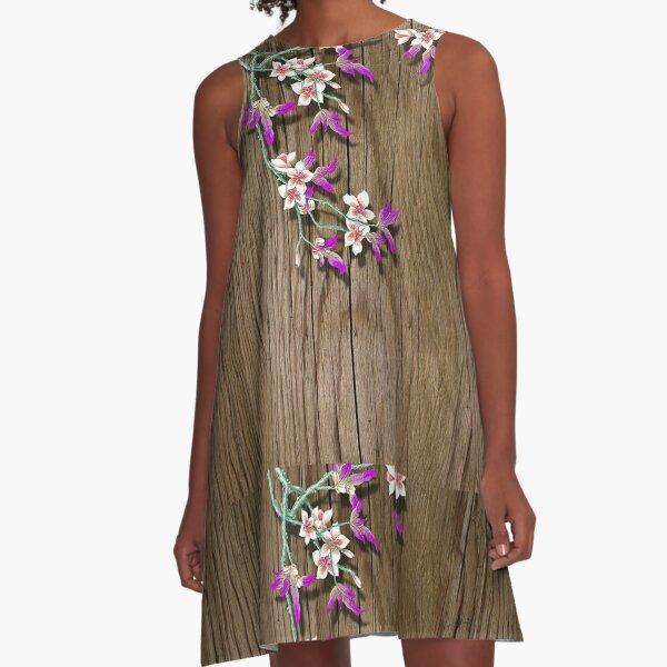 Epiphytes A-Line Dress