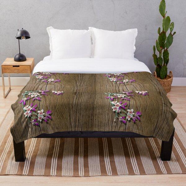 Epiphytes Throw Blanket