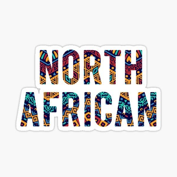 Wear north african  Sticker