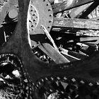 Metal Abstract Sculpture. Sausalito, California by Igor Pozdnyakov
