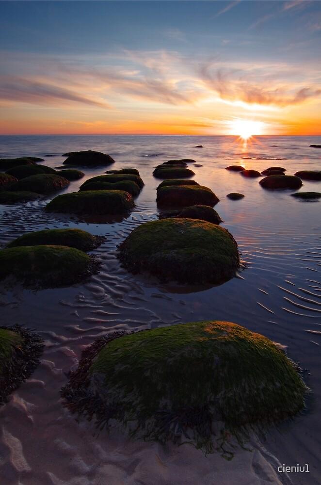 Hunstanton sunset by cieniu1