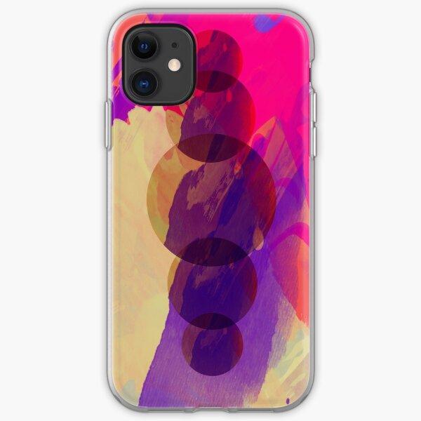 Big Purple Planet Eater iPhone Soft Case
