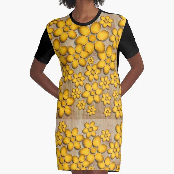 Floret Graphic T-Shirt Dress