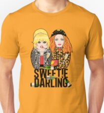 Sweetie Darling - Absolutely Fabulous Dolls Slim Fit T-Shirt