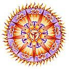 Fire Mandala by Julie Ann Accornero