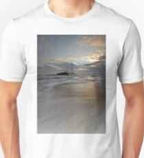 St. Mary's Lighthouse sunrise Unisex T-Shirt