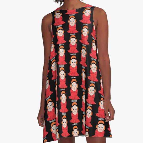 Divine Doll A-Line Dress