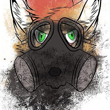 Gas mask canine by kwinz