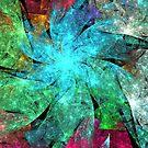 Aqua Starry Spiral by KimSyOk