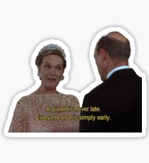 Queen Julie Andrews Sticker