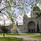 the old Exhibition Buildings, Melbourne, Victoria by BronReid