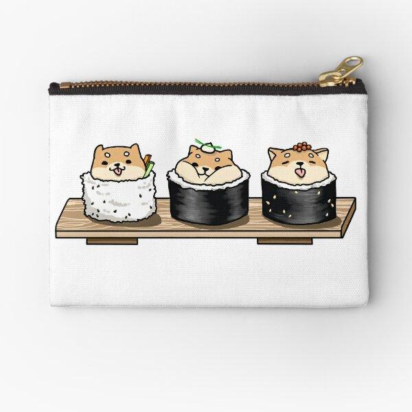 Sushiba (Shiba Sushi) Zipper Pouch