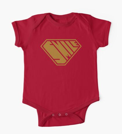 Smile SuperEmpowered (Gold) Kids Clothes