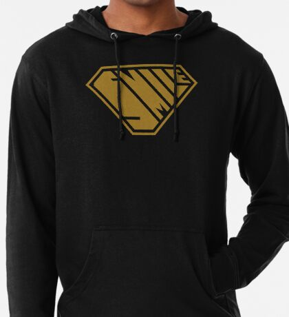 Smile SuperEmpowered (Gold) Lightweight Hoodie