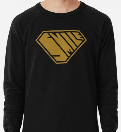 Smile SuperEmpowered (Gold) Lightweight Sweatshirt