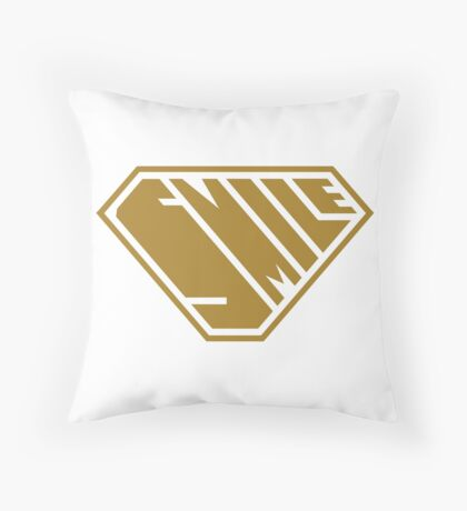 Smile SuperEmpowered (Gold) Floor Pillow