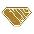 Smile SuperEmpowered (Gold) by Carbon-Fibre Media