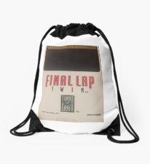 Turbografx 16 Final Lap Twin Drawstring Bag