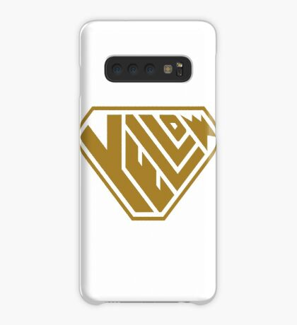 Yellow SuperEmpowered (Gold) Case/Skin for Samsung Galaxy