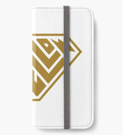 Yellow SuperEmpowered (Gold) iPhone Wallet