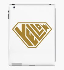 Yellow SuperEmpowered (Gold) iPad Case/Skin