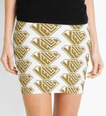 Yellow SuperEmpowered (Gold) Mini Skirt