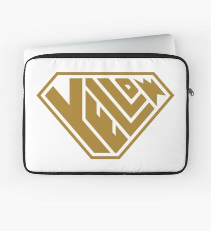 Yellow SuperEmpowered (Gold) Laptop Sleeve