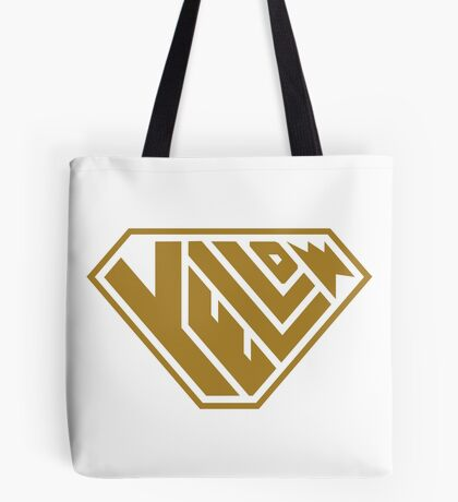 Yellow SuperEmpowered (Gold) Tote Bag