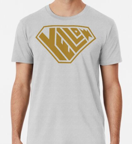 Yellow SuperEmpowered (Gold) Premium T-Shirt