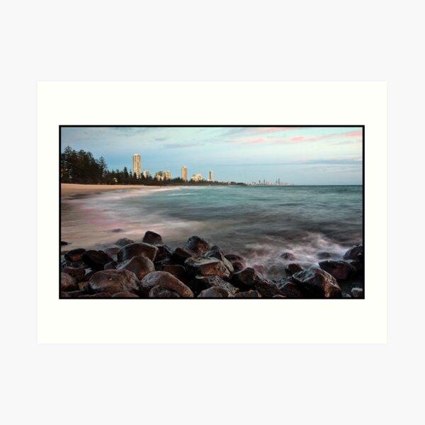 Australia Day Sunrise - Burleigh Heads Art Print