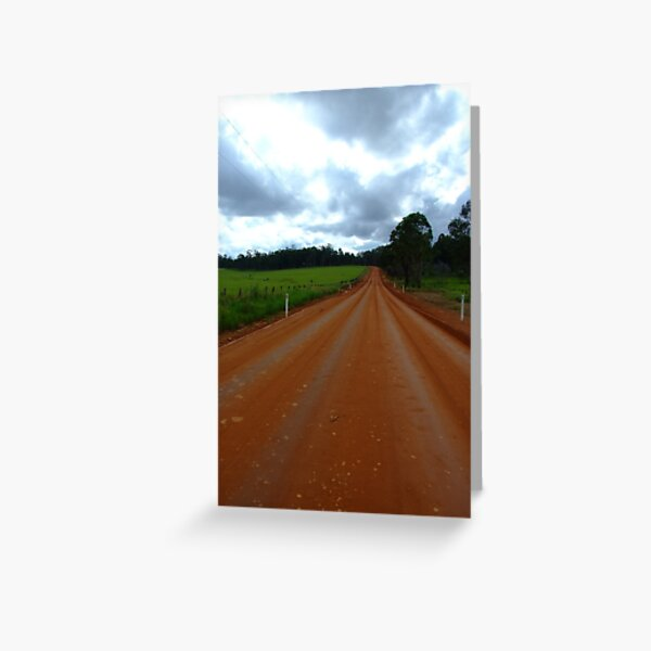 road to heaven Greeting Card