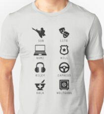 Sense8 Minimalist Unisex T-Shirt