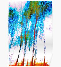 'Abstract Trees' Poster