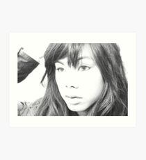 """ Sketching Love "". Art Print"