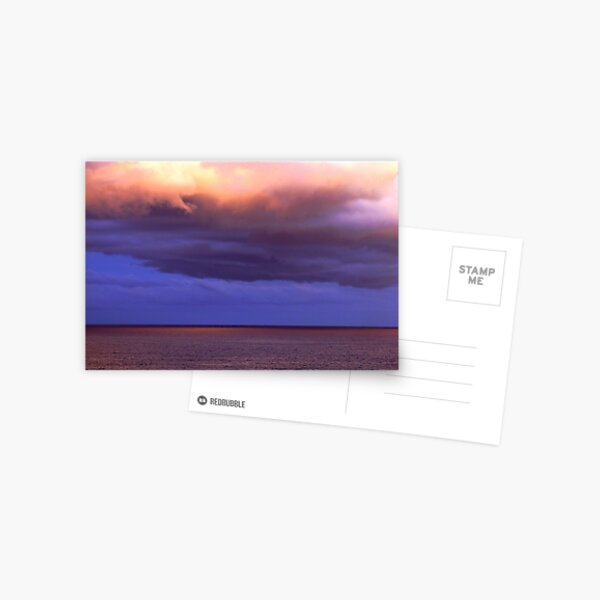 God's canvas Postcard