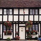 lovely old half timbered house, Warwick High Street by BronReid