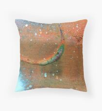 Drip-Dried Throw Pillow