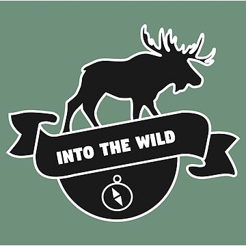 Into the Wild Moose with Compass by studiopico