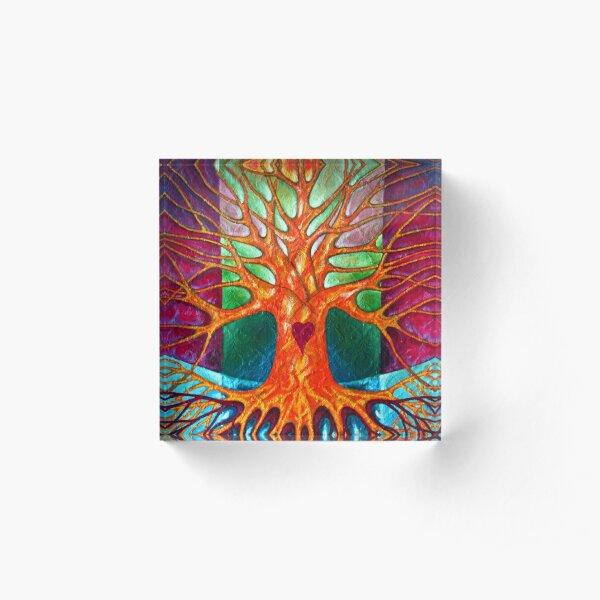 Joy Acrylic Block
