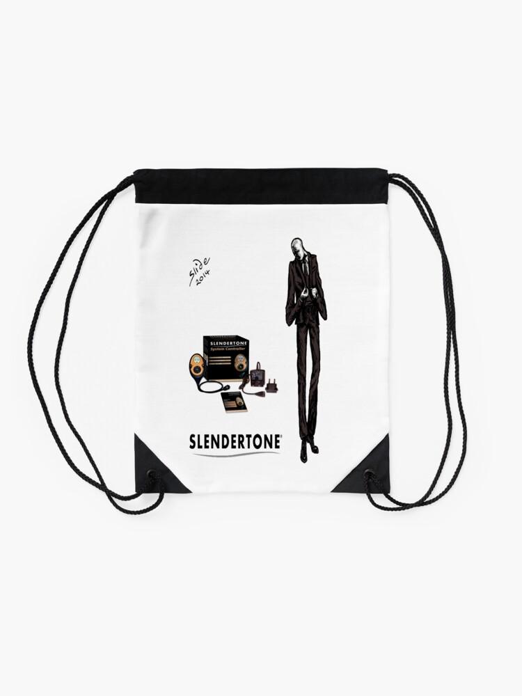 Alternate view of Slenderman Drawstring Bag