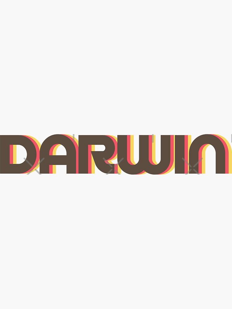 Darwin Retro by designkitsch