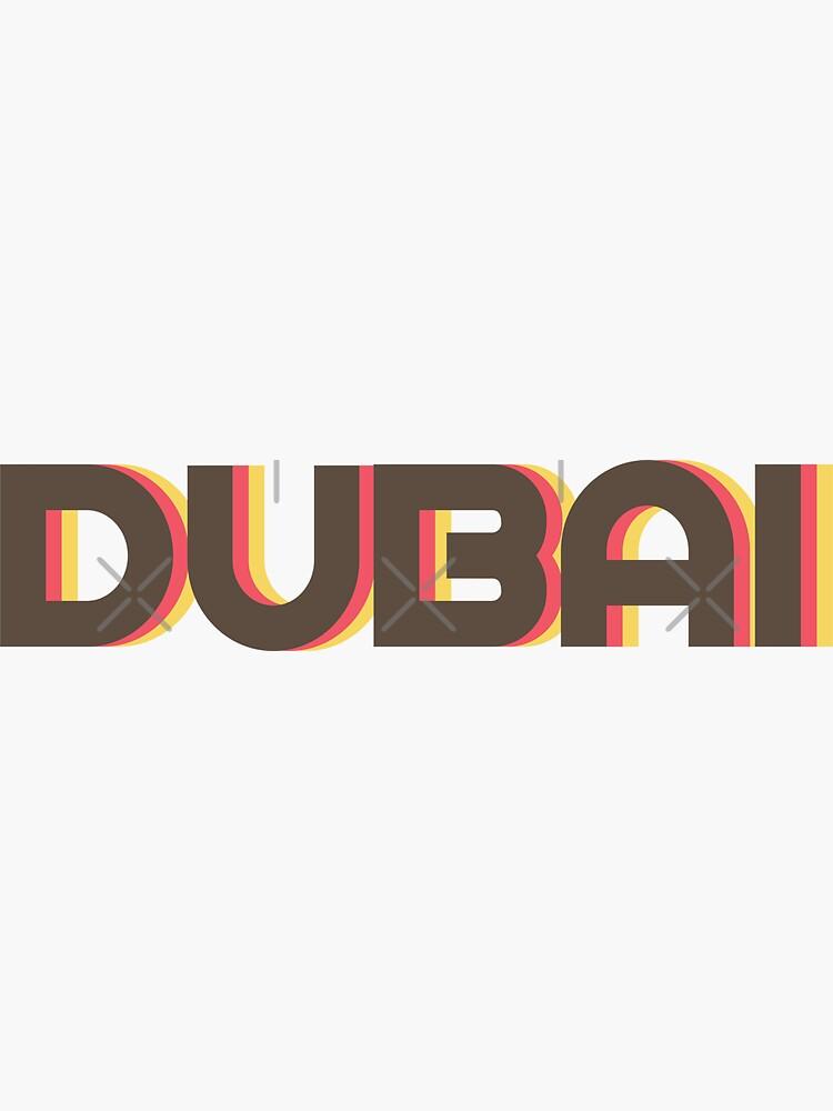 Dubai Retro by designkitsch